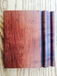 Antique Distress Maple Sample