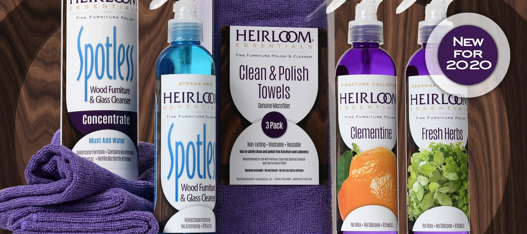 New for 2020 - A fresh new face for Heirloom Essentials